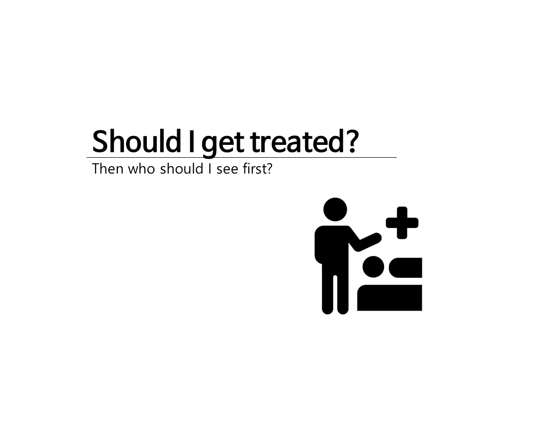 Should I get treated?
