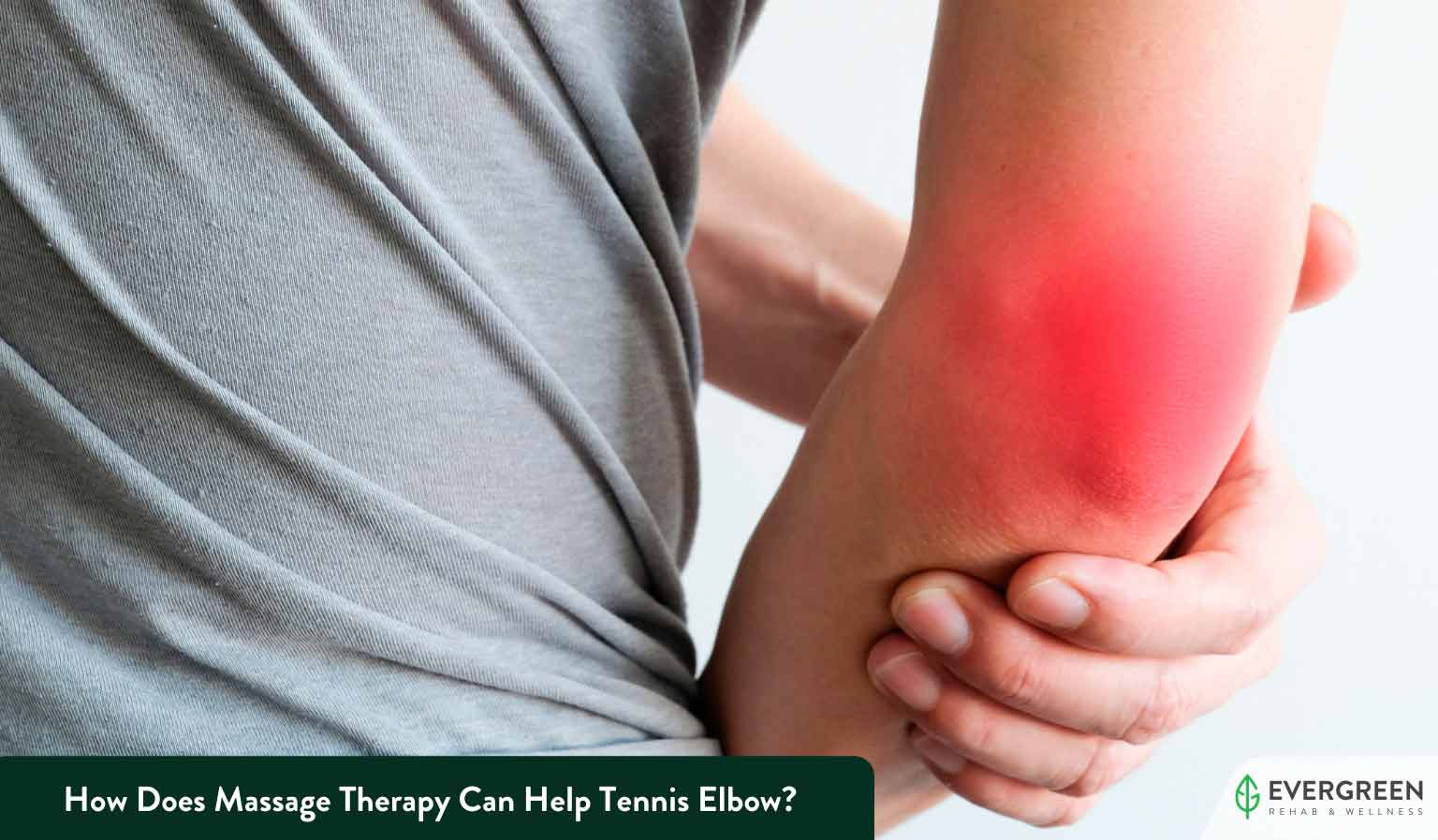 How Does Massage Therapy Can Help Tennis Elbow?