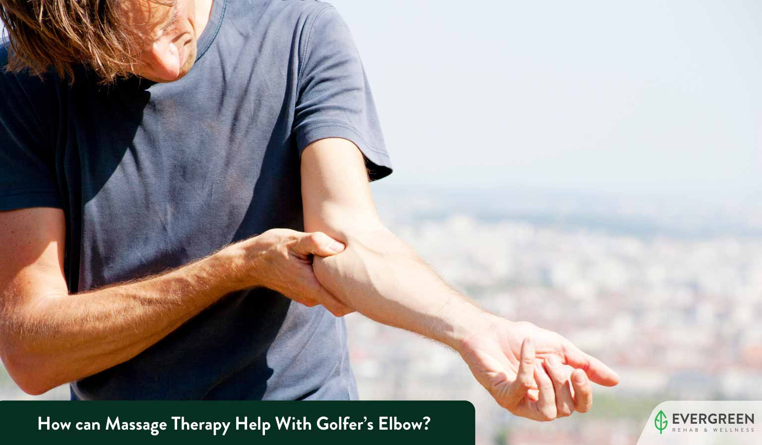How can Massage Therapy Help With Golfer's Elbow?