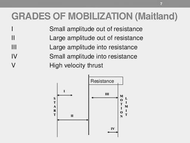 grades of mobilization Maitland