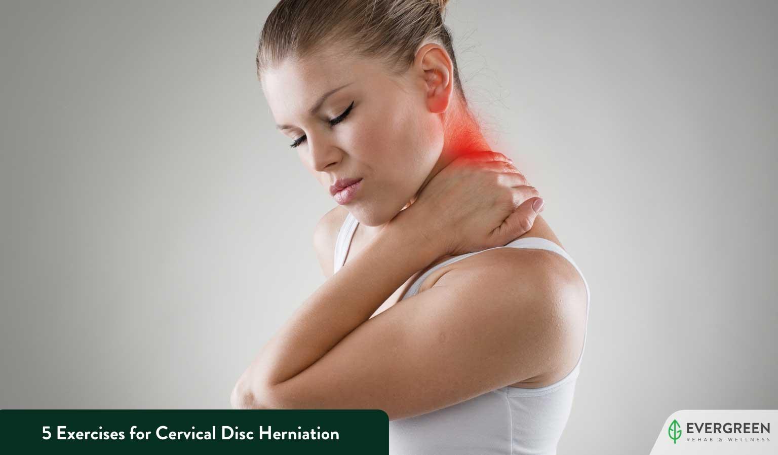 5 Exercises for Cervical Disc Herniation