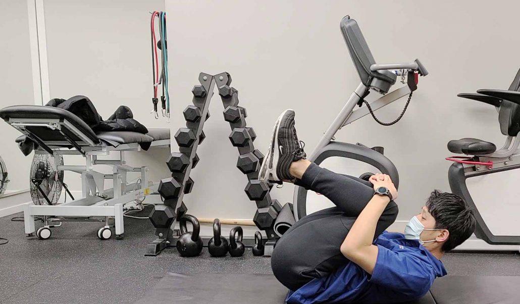 Back Flexion Stretch