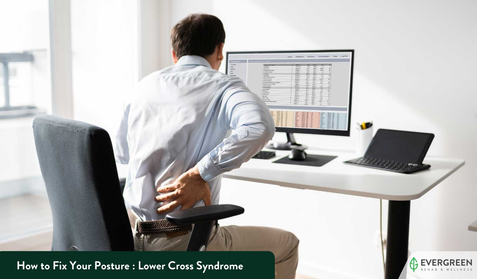 How to Fix Your Posture : Lower Cross Syndrome
