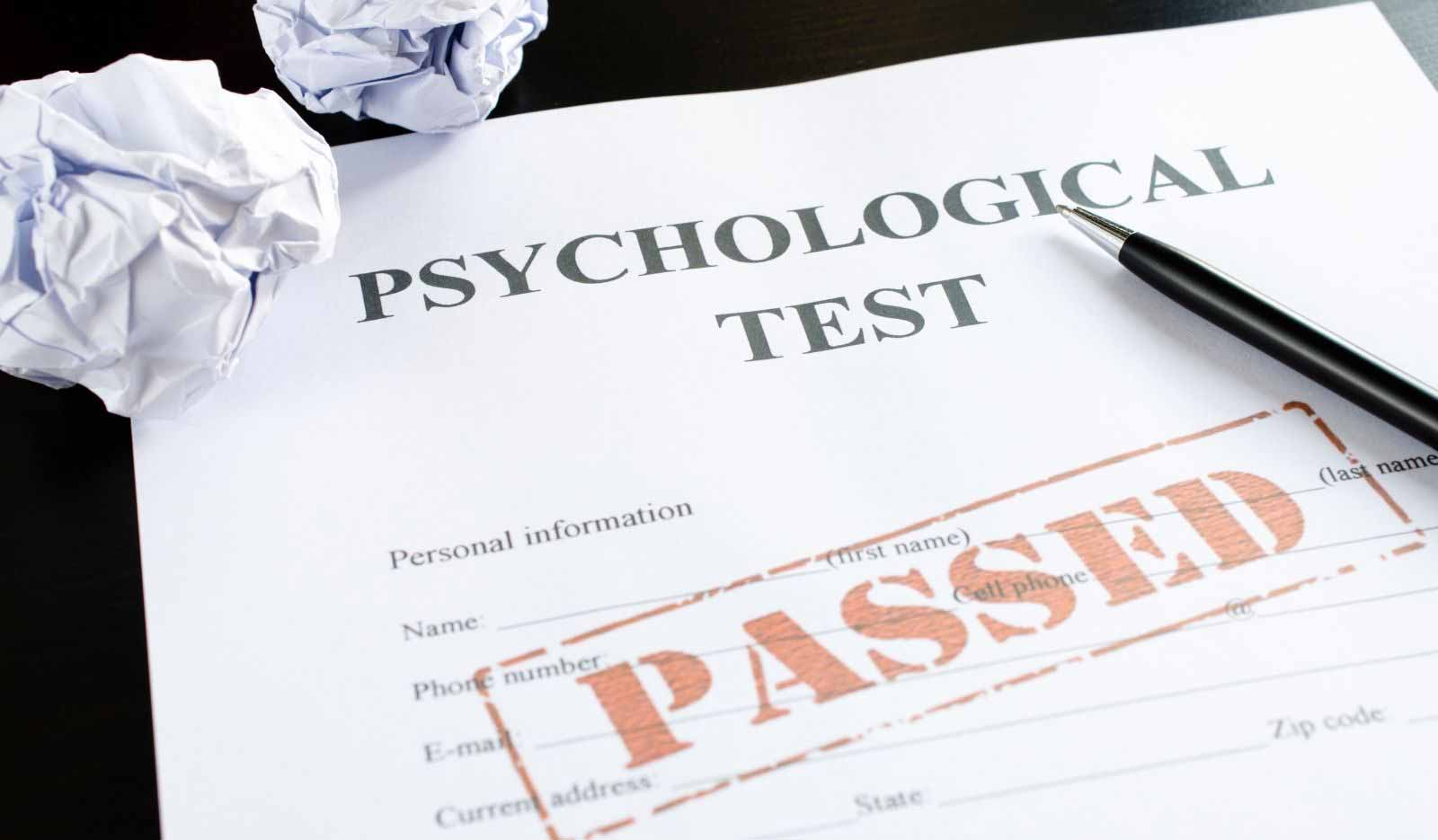 Psychological Tests (MBTI)