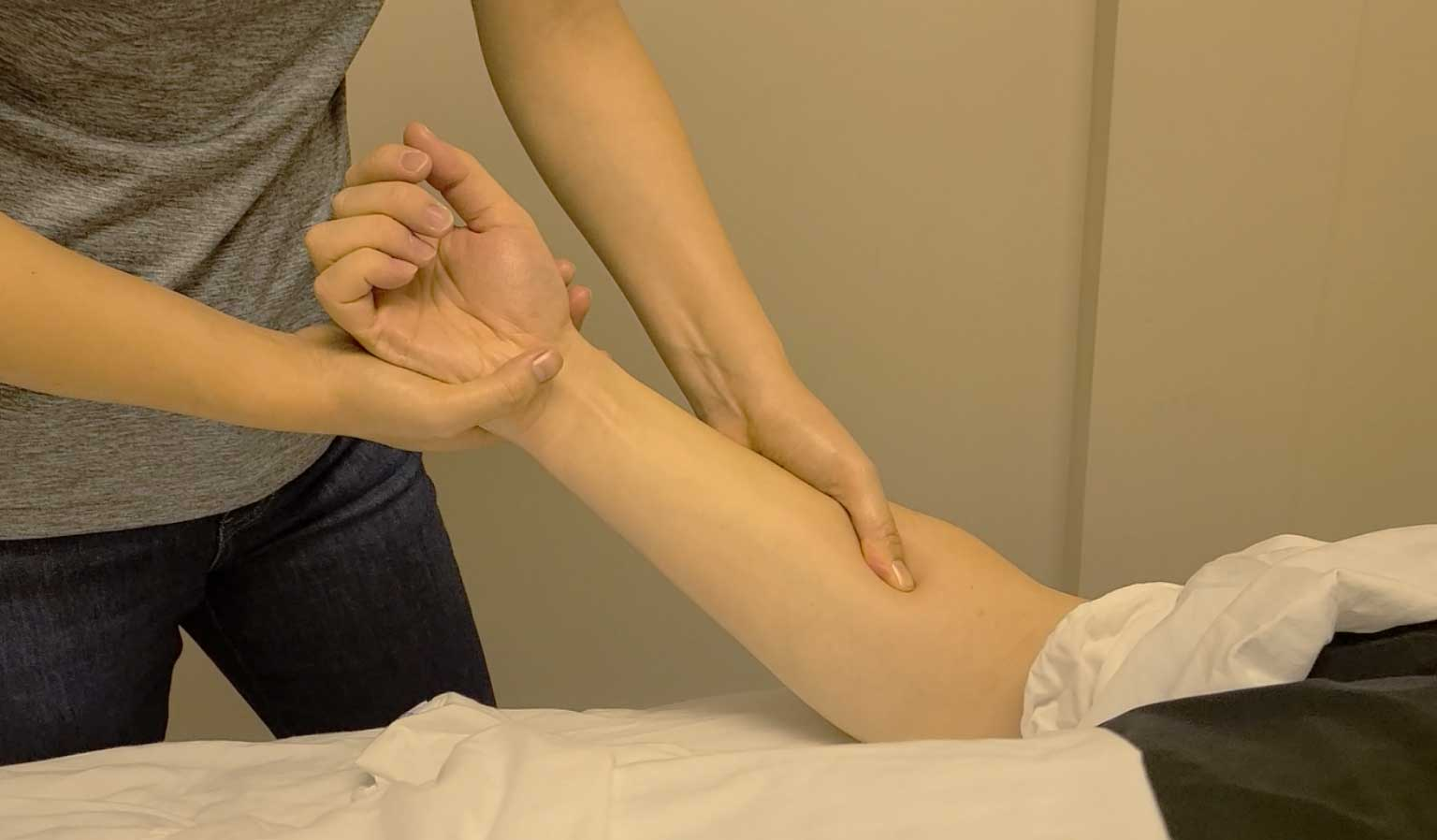 Forearm Massage