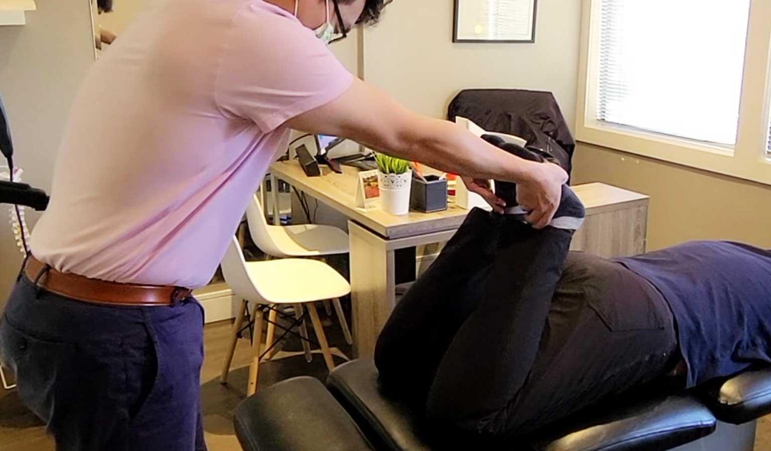 Chiropractor in Surrey