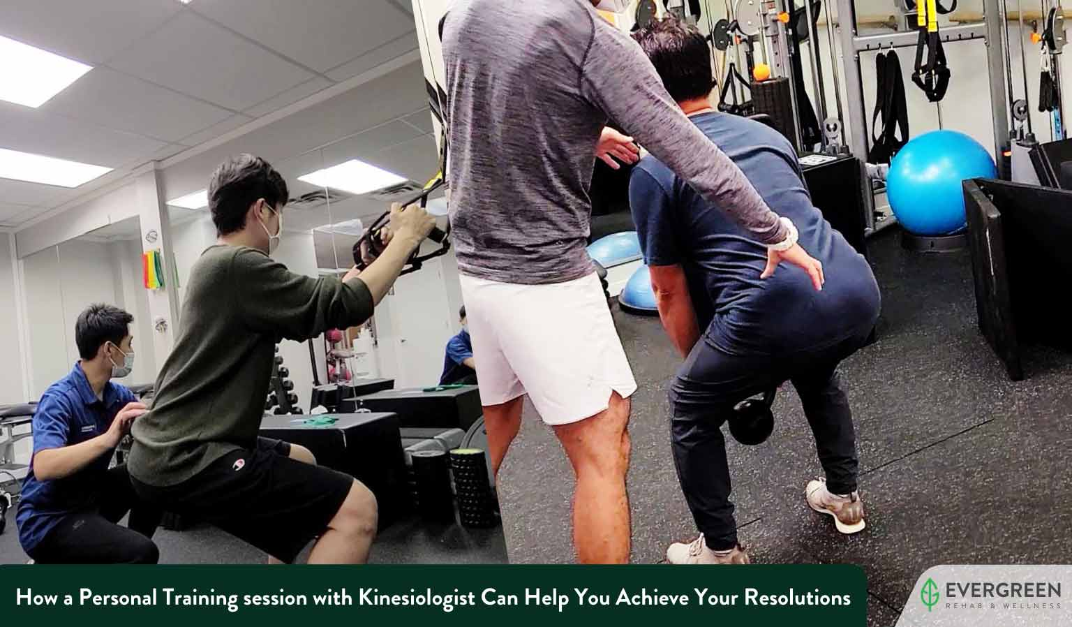 How a Personal Training session with Kinesiologist Can Help You Achieve Your Resolutions This Year