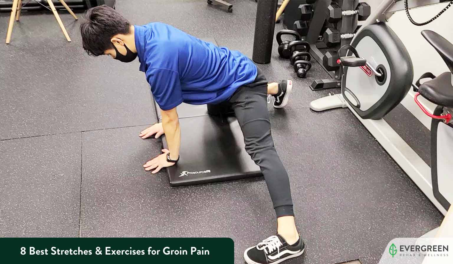 8 Best Stretches & Exercises for Groin Pain