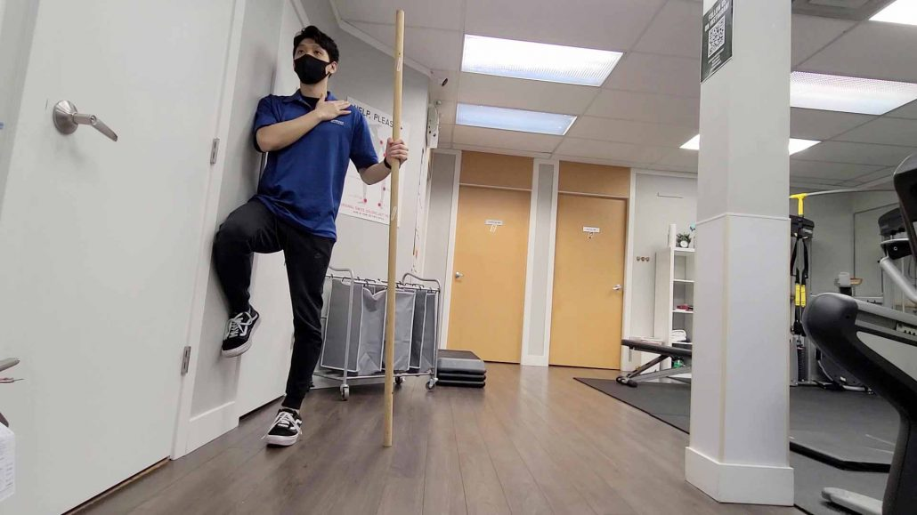 Groin Activation against the Wall