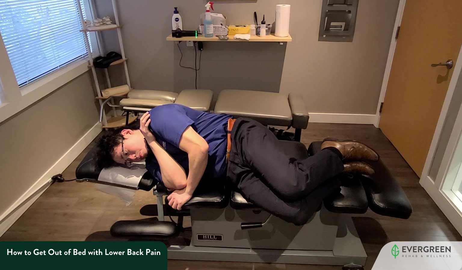 How to Get Out of Bed with Lower Back Pain