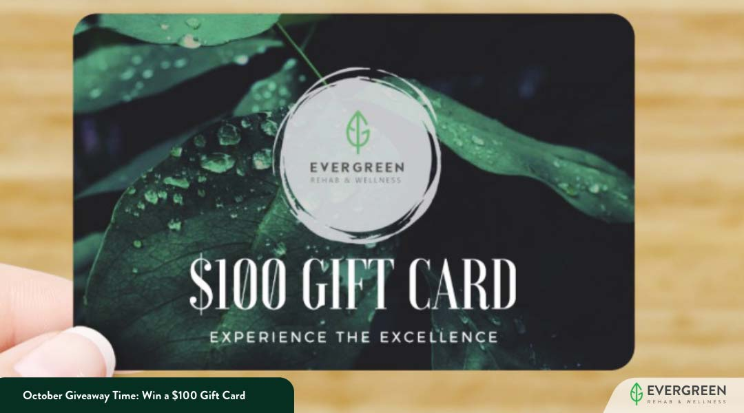 October Giveaway Time: Win a $100 Gift Card